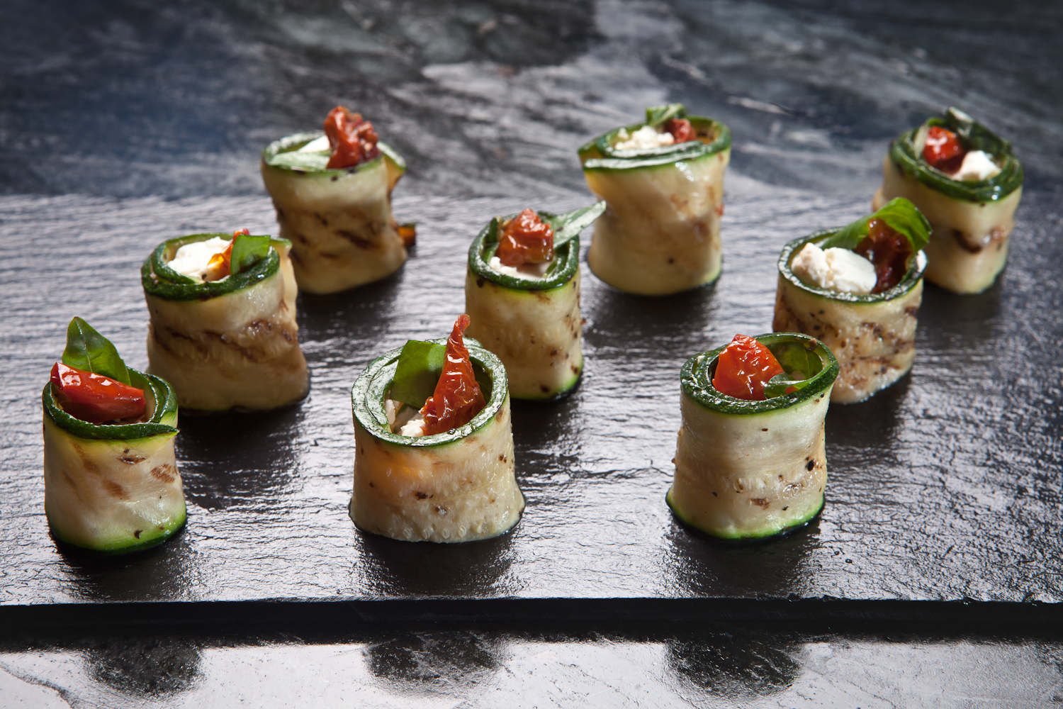Canapes may be small but they deliver impact and taste