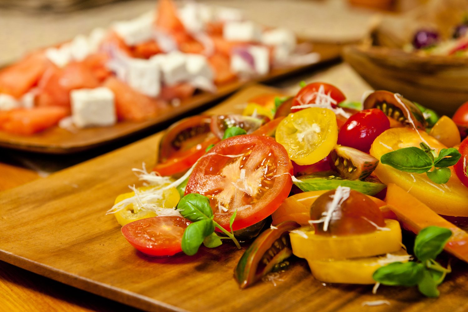Healthy sustainable food for guests and delegates